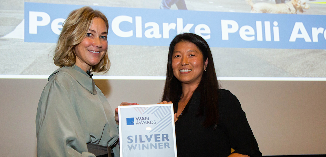 The Silver award for the Transport category goes to Pelli Clarke Pelli Architects