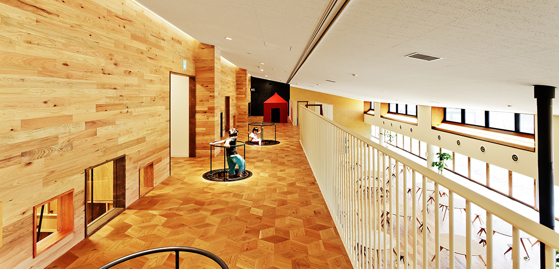 HH Social Welfare Corporation by HIBINOSEKKEI + Youji no Shiro + KIDS DESIGN LABO