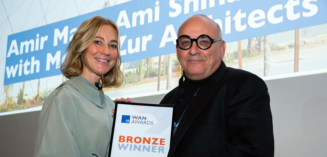 Winning Bronze for their Transport entry is Amir Mann, Moshe Zur, Ami Shinar, Orna Zur Architects