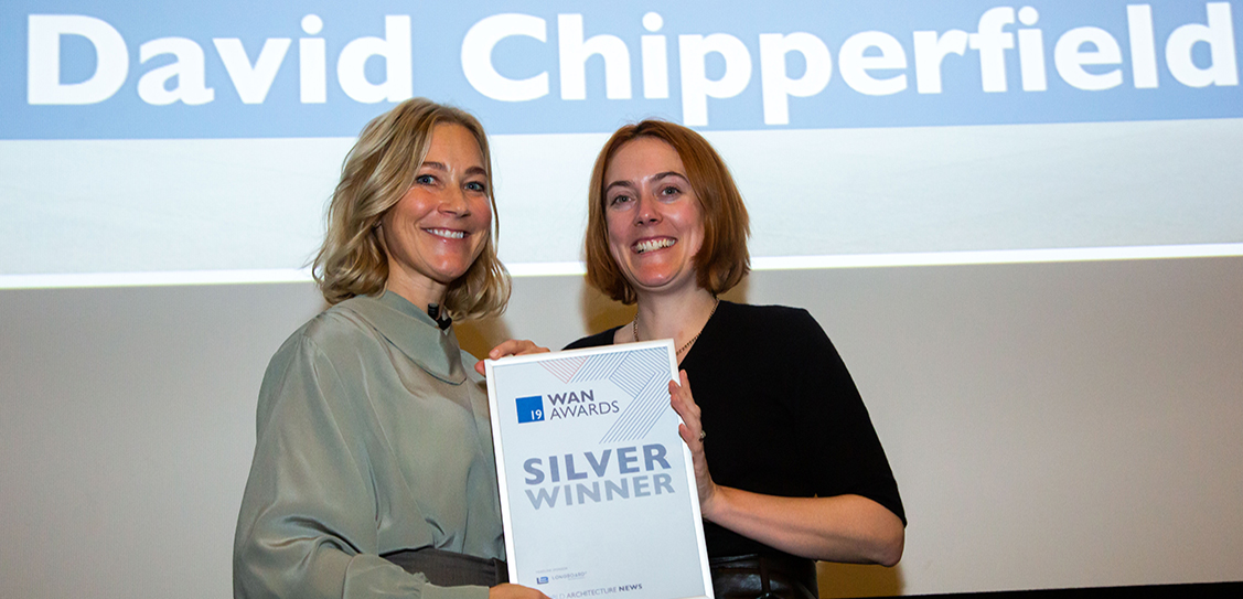 David Chipperfield Architects Berlin take the Silver award in the Mixed Use Category