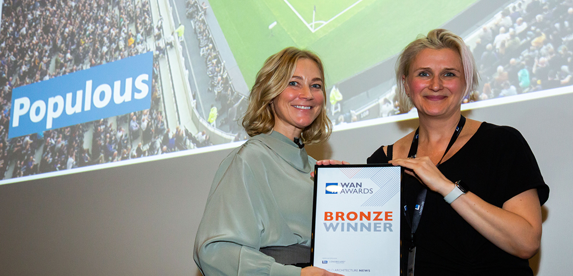 Populous win Bronze in the Leisure category