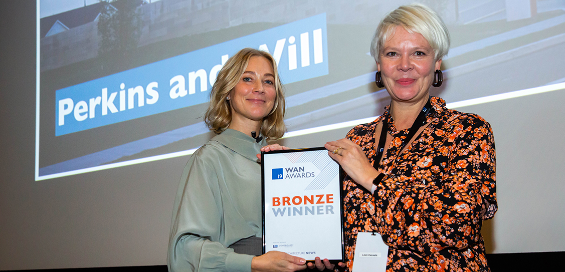 The Bronze award in the Healthcare category goes to Perkins and Will