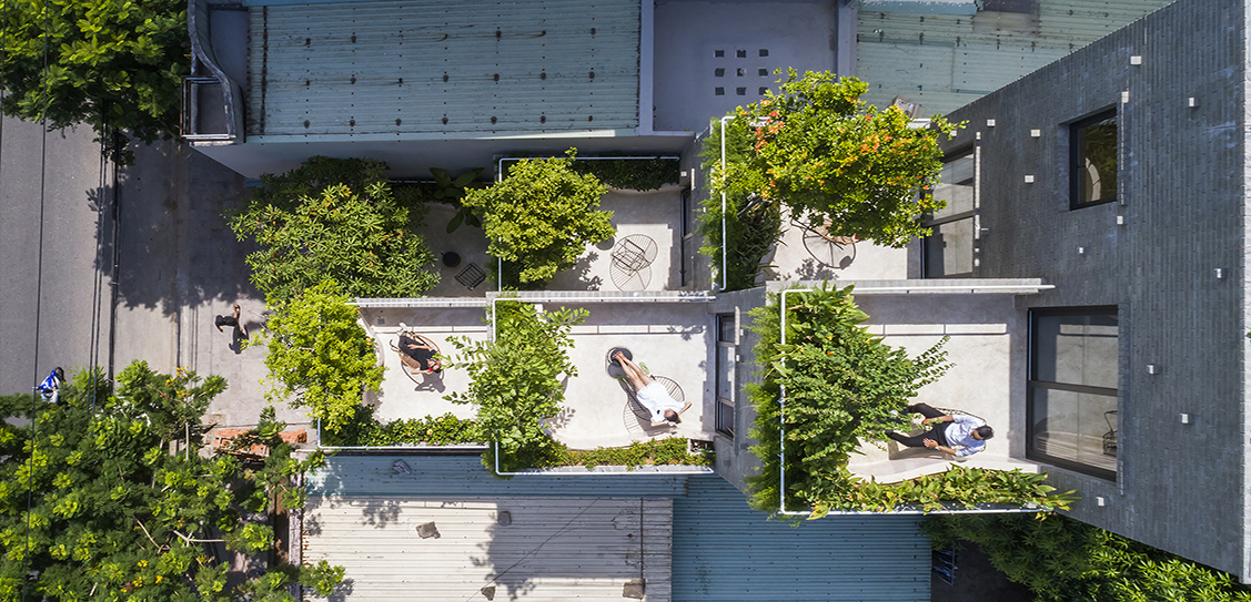 Garden Peace Village - Ho Khue Architects