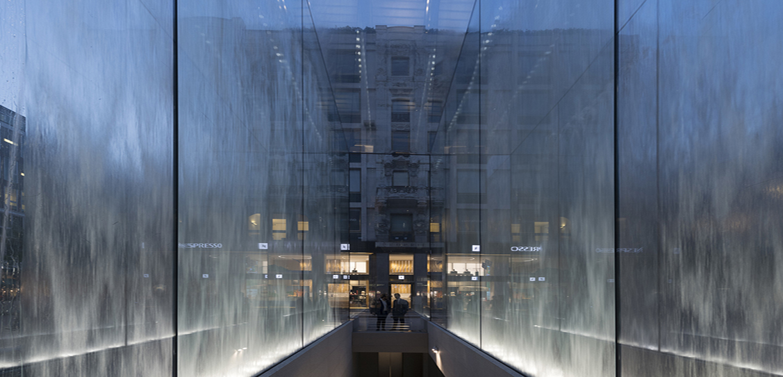Apple Piazza Liberty - Foster + Partners
