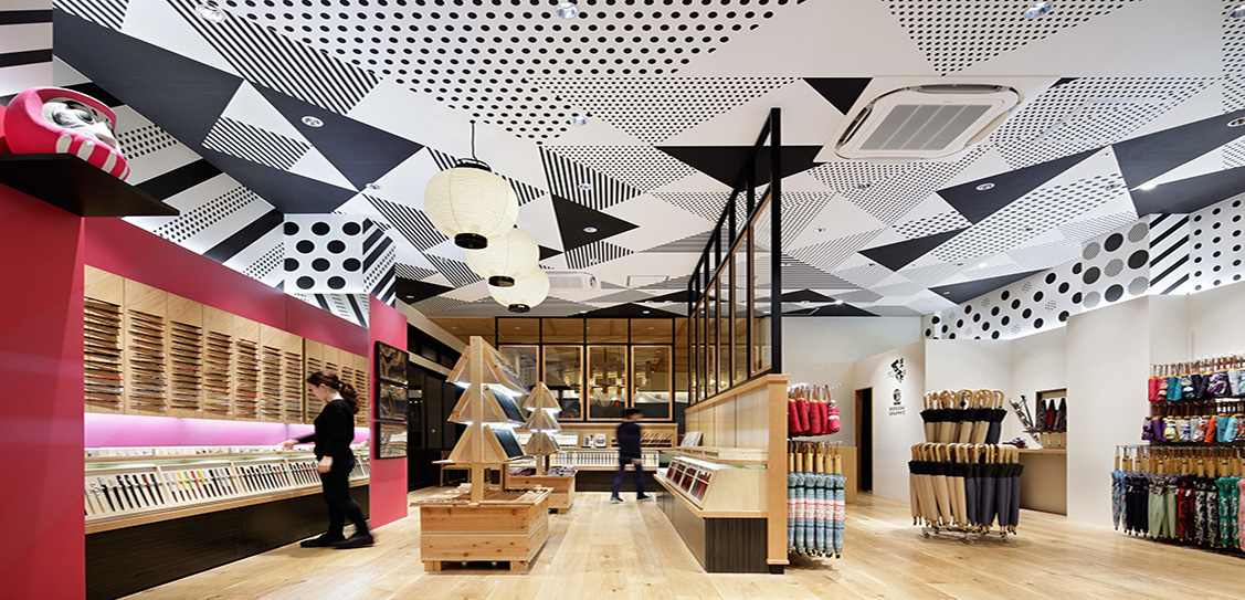 Salon de Kanbayashi & Mansaku - Interior Design