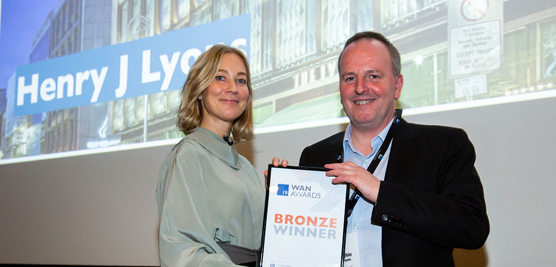 Henry J Lyons wins Bronze in the Commercial (under 50,000sqm) category