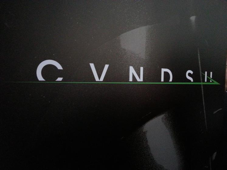 The logo is green to emphasise Cavendish's pursuit of the Tour de France Green Jersey