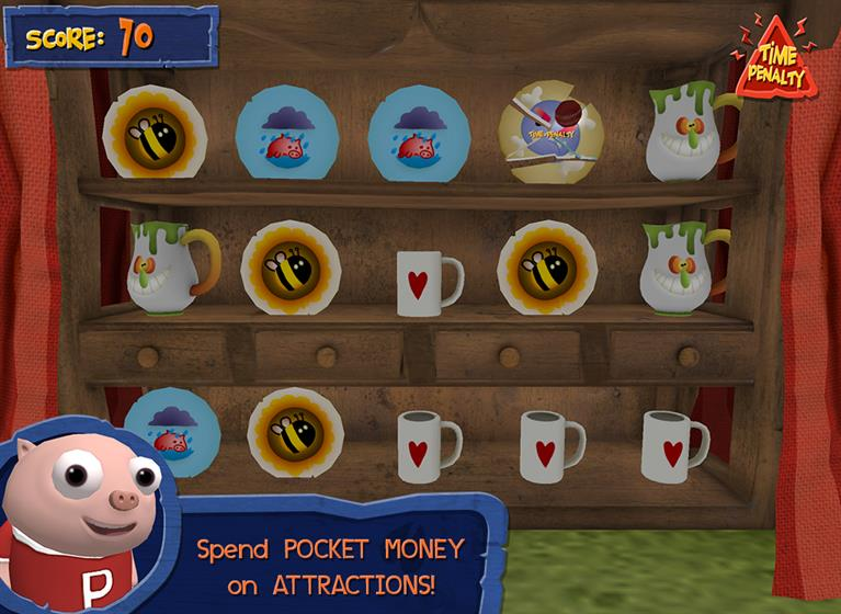 Pigby and Friends teach children the value of money