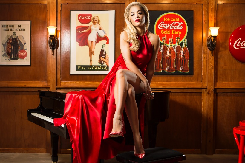Rita Ora joins Coca-Cola to open Soho pop-up bar