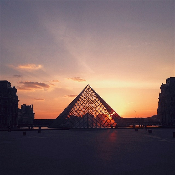 Louvre, Paris. Taken by @alistair_wheeler