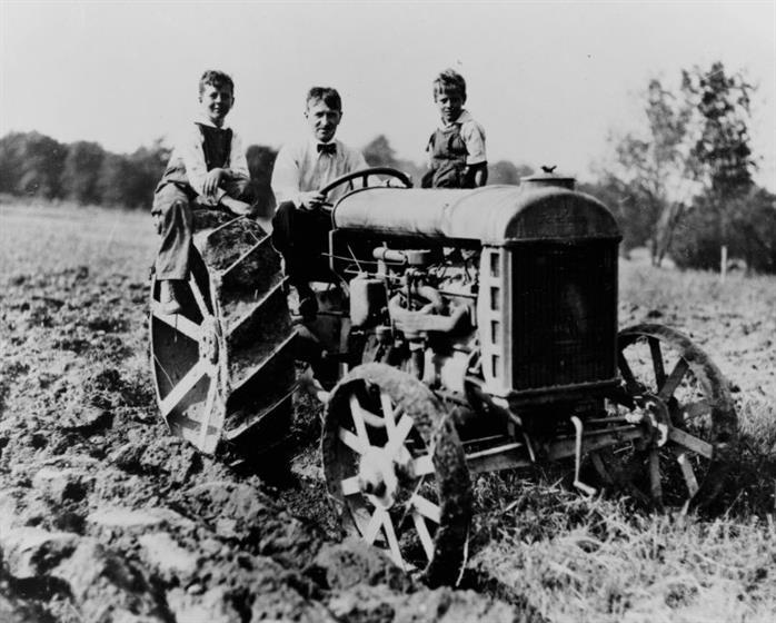 Firestone's rubber tyres revolutionised US agriculture