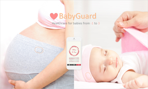 BabyGuard, smart healthcare for newborns.