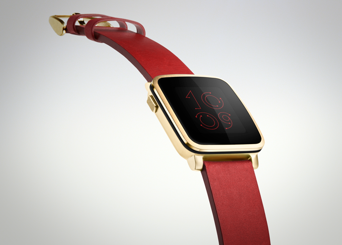 Spot the difference - Apple Watch or Pebble Time Steel?