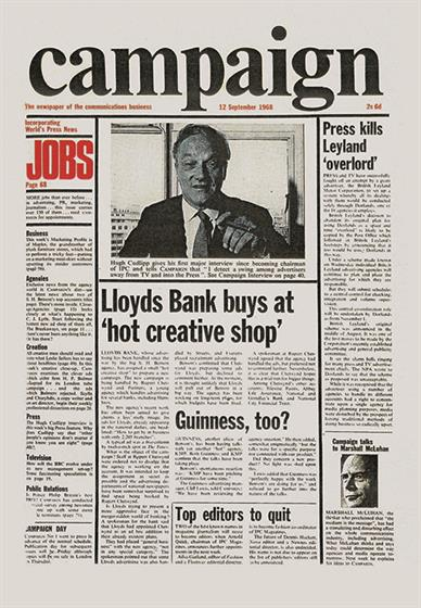 Campaign's first issue in 1968