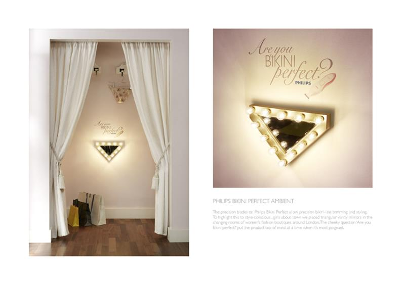 Philips 'Bikini Perfect Ambient' by Iris Worldwide