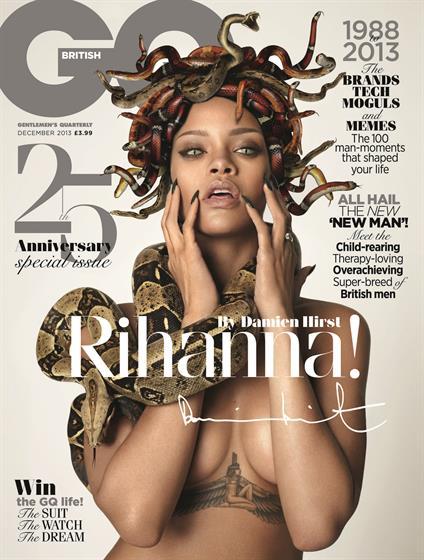 2013 Dec - Rihanna