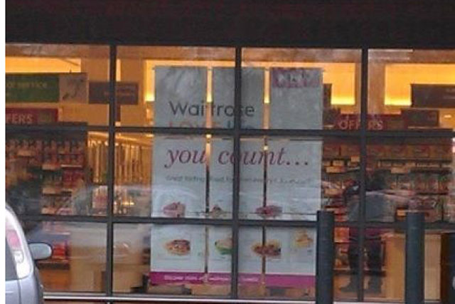 Waitrose rude greeting