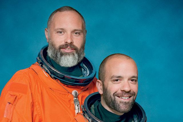 Lolly Thomson and Rob Doubal