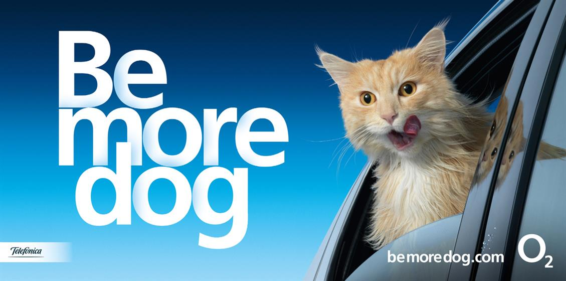 Campaign of the Year 2013: O2 'be more dog'