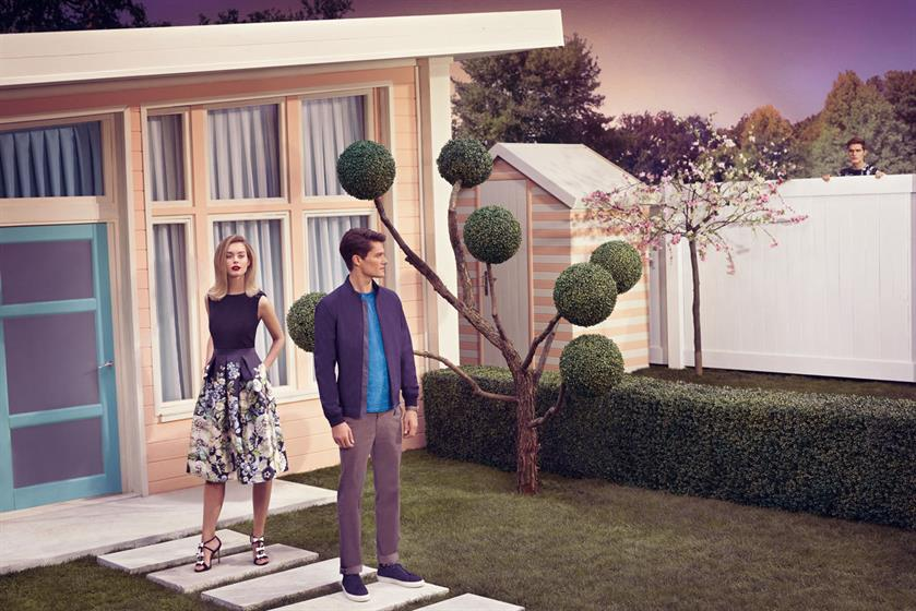 2ccdce9a6a5e Ted Baker s global campaign debuts 360º shoppable film