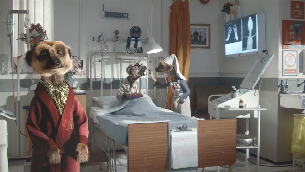 Comparethemarket.com: meerkat work helped turn around VCCP's fortunes