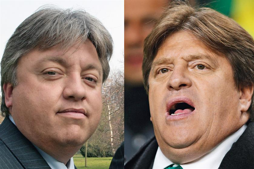 1. Garry Lace and Miguel Herrera. Credit: Getty Images