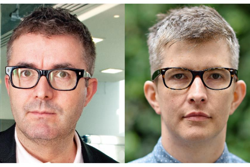 10. James Murphy and Gareth Malone. Credit: Getty Images