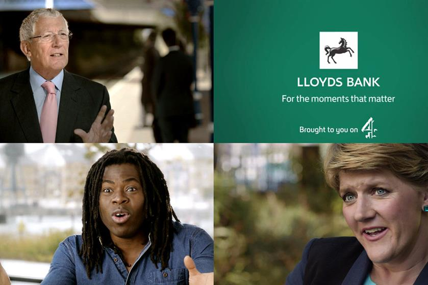 Lloyds Bank and Channel 4 by MEC