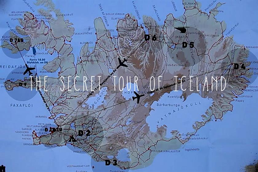 The Secret Tour of Iceland by The Brooklyn Brothers