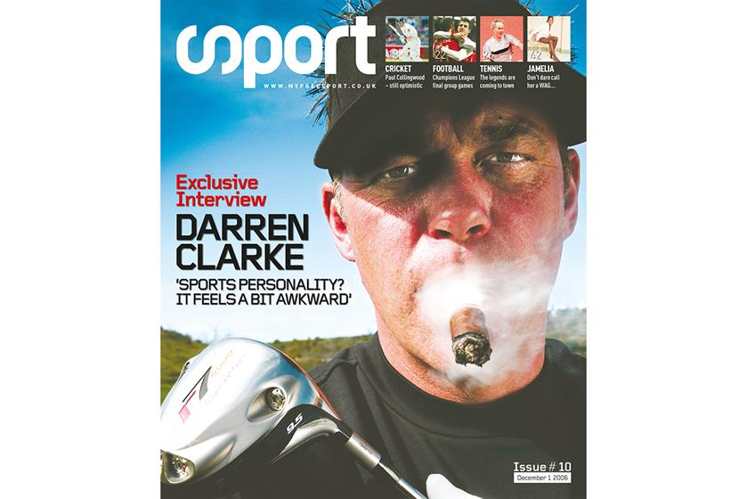Back in 2006, Clarke – the Ryder Cup captain this year – was the hero of a Ryder Cup win, having played just weeks after the death of his wife. Our then French owners hated this cover – they didn't like the cigar.