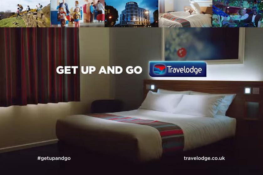 Travelodge 'Get Up and Go'