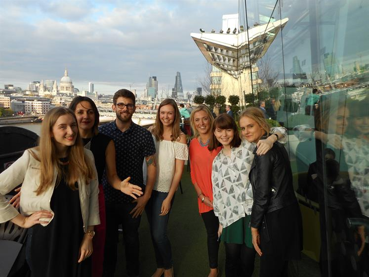 Echo Falls event at the Oxo Tower in London