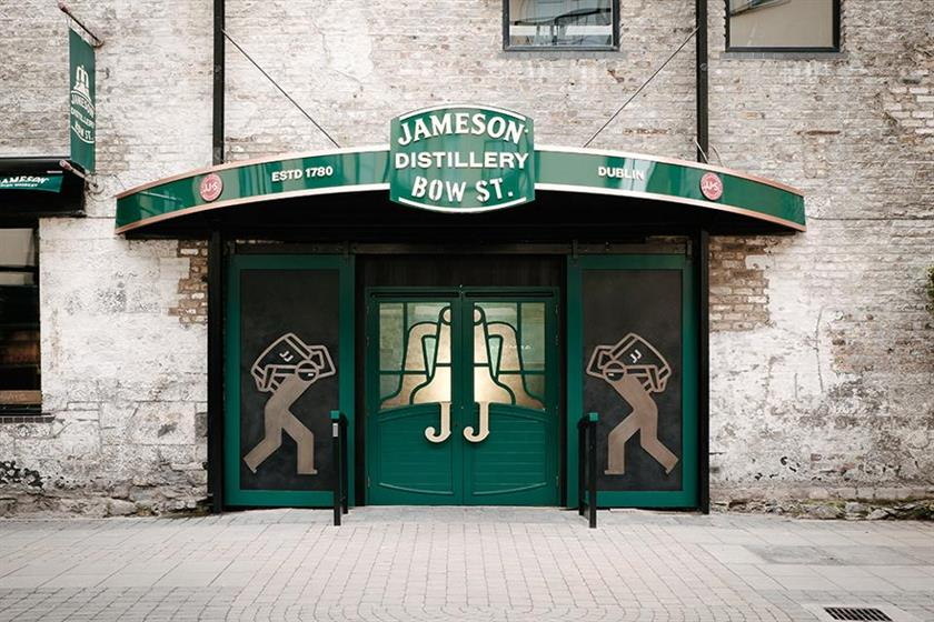 'Brand home': renovated Jameson Distillery Bow St.