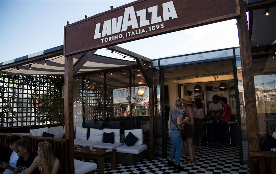 Lavazza's activation was inspired by the brand's Italian heritage