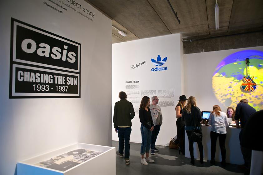 In Pictures Oasis Chasing The Sun Exhibition At Londonnewcastle