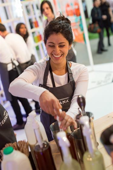 In Pictures Starbucks Opts For Tea At London Coffee Festival