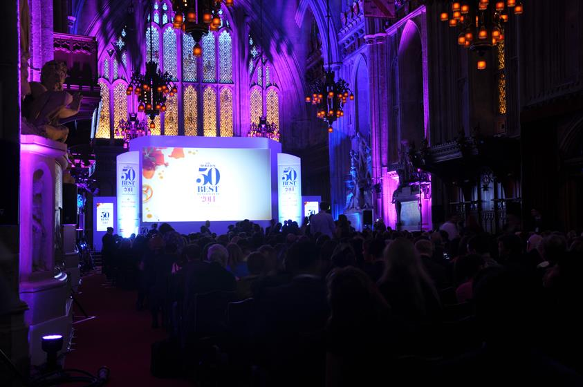 In pictures: Table Talk cater for Worlds 50 Best Restaurants