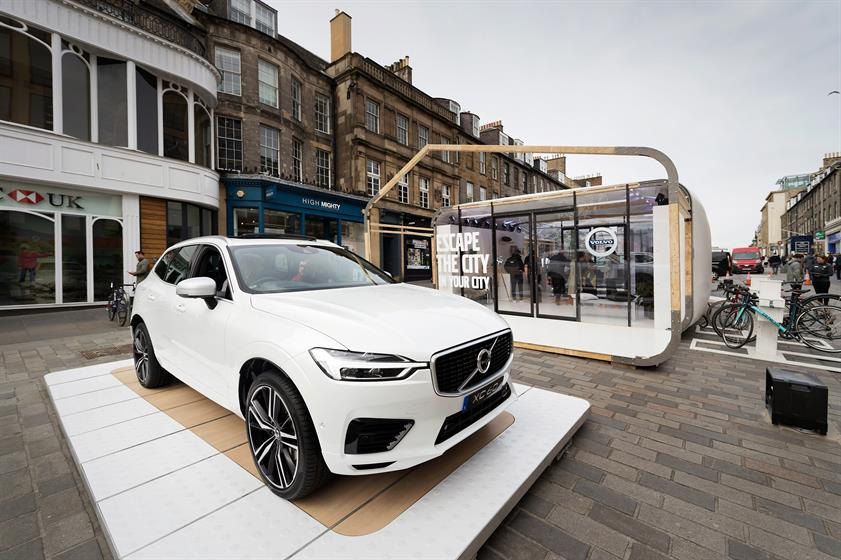 Volvo's 'Escape the City in your City' was created by TRO