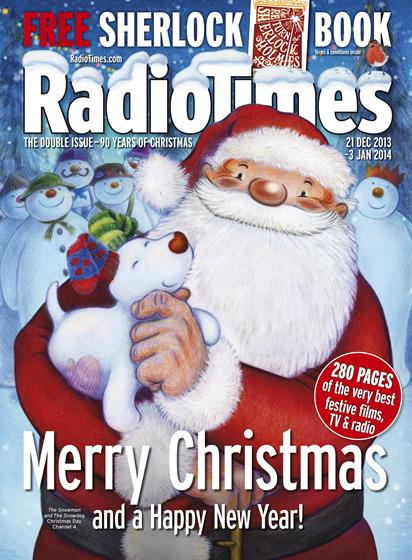 Immediate Media's Radio Times brought back Father Christmas for the first time in four years (along with a bumper price rise to £3.20).
