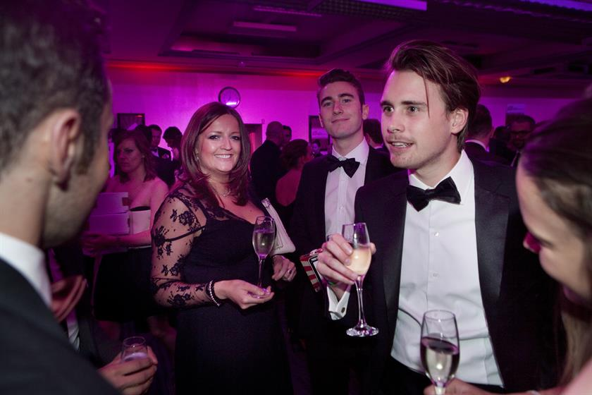 The drinks reception at Brand Republic Digital Awards 2014