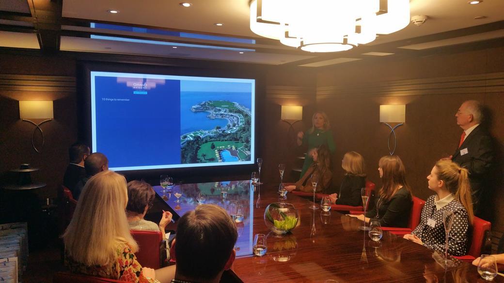 Grand Resort Lagonissi's Athenian event