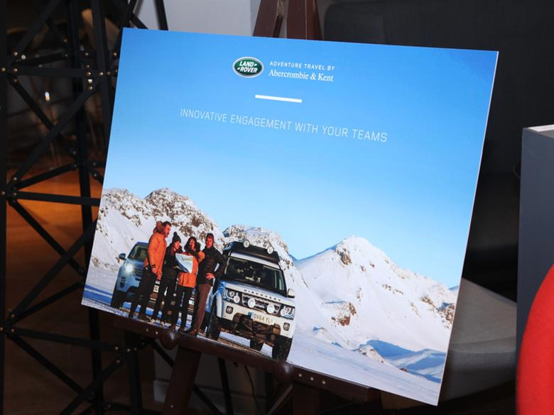 A&K Land Rover Adventure Travel Launch