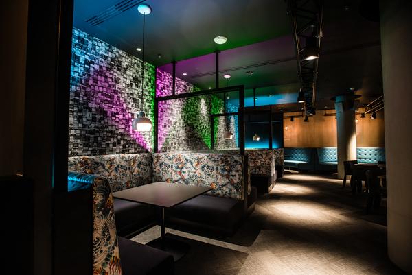 The American Express Lounge. Image courtesy of Blake Ezra