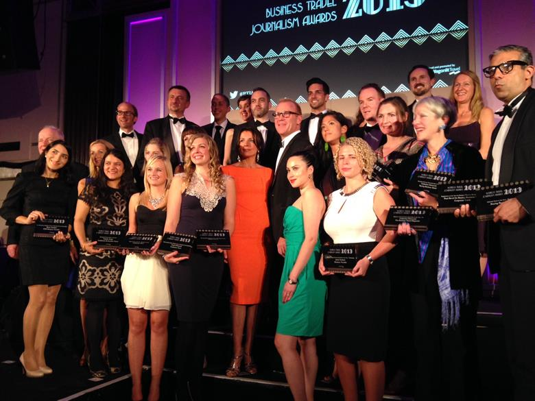 C&IT editor-in-chief Yasmin Arrigo was among winners at the 10th Business Travel Journalism Awards 2013, CWT's annual event.