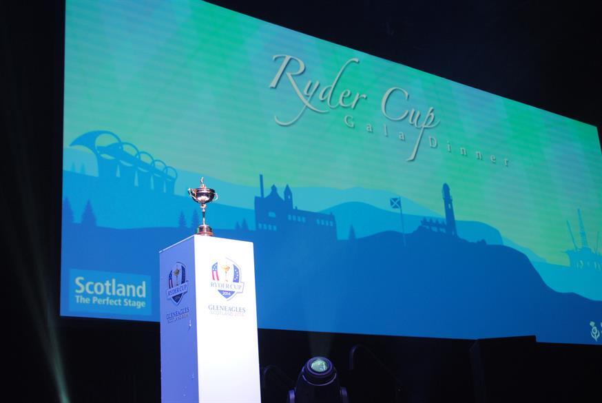 2014 Ryder Cup Gala Dinner, SECC Hydro, Glasgow