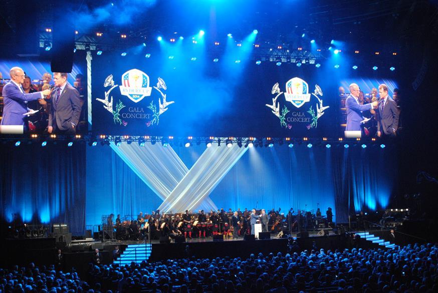 2014 Ryder Cup Gala Concert, SECC Hydro, Glasgow