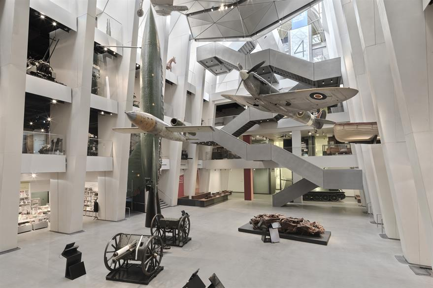 Atrium, Imperial War Museum, London (© IWM)