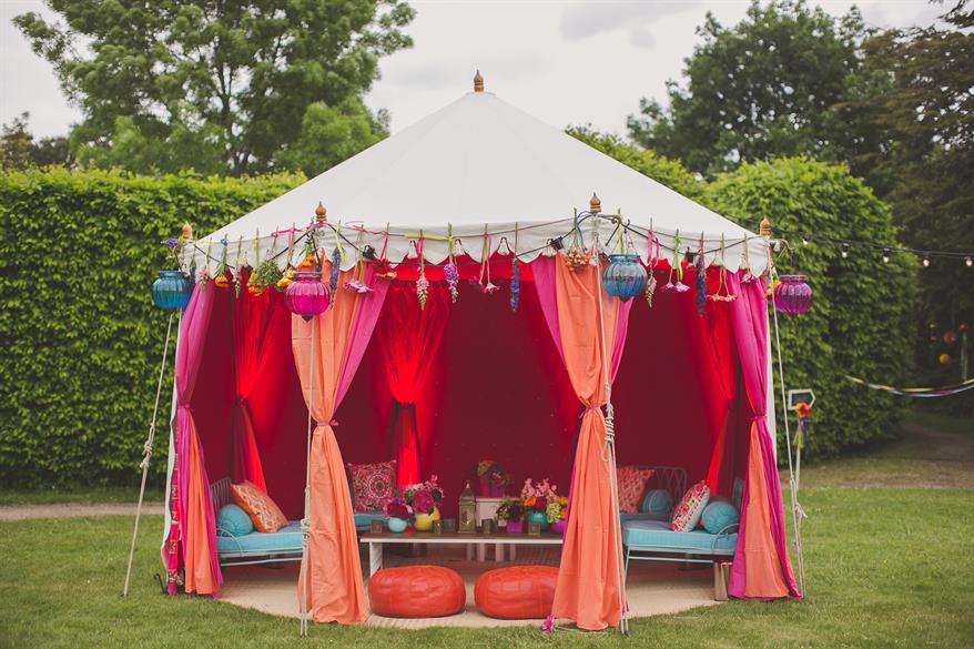 Hampton Court Palace Hidden Garden Party
