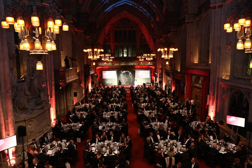 IWSC 2015 46th Awards Presentation & Banquet, Guildhall