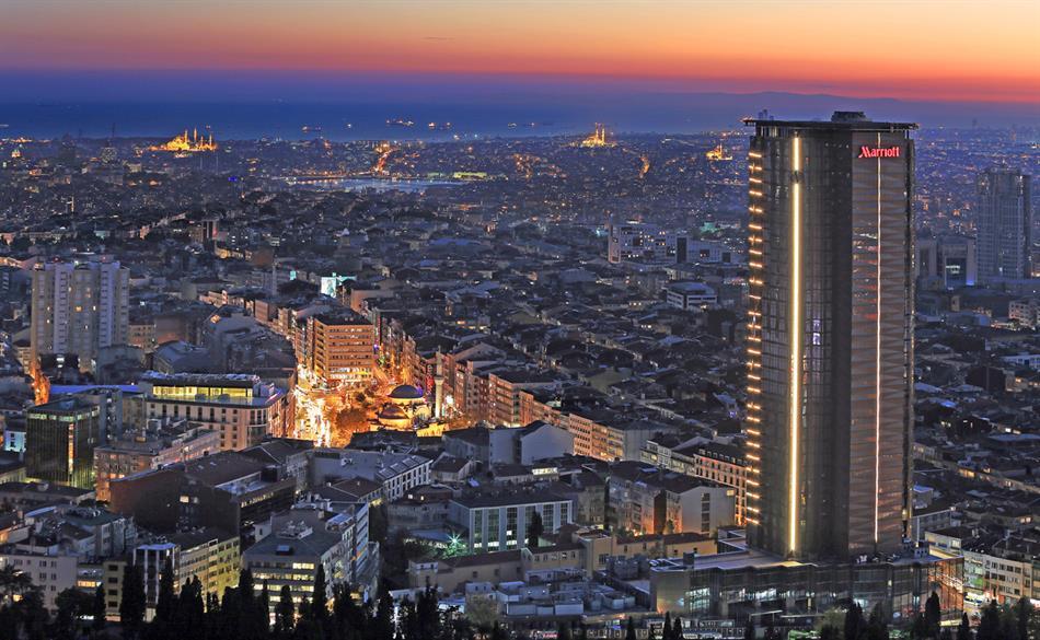 Istanbul Marriott Hotel Sisli, Turkey